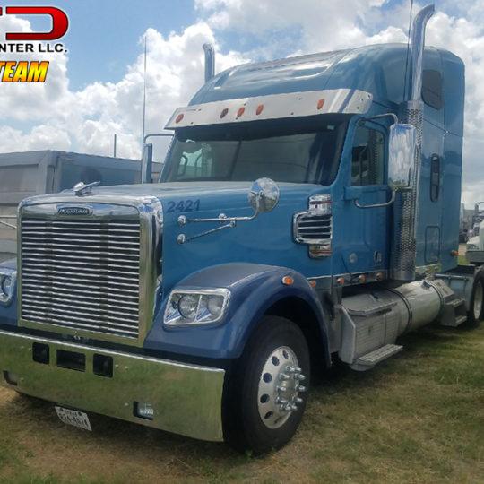 2014 Freightliner FTL Coronado Blue